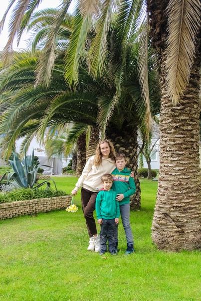 Семейная фотосессия в Адлере. Маргарита 03.21