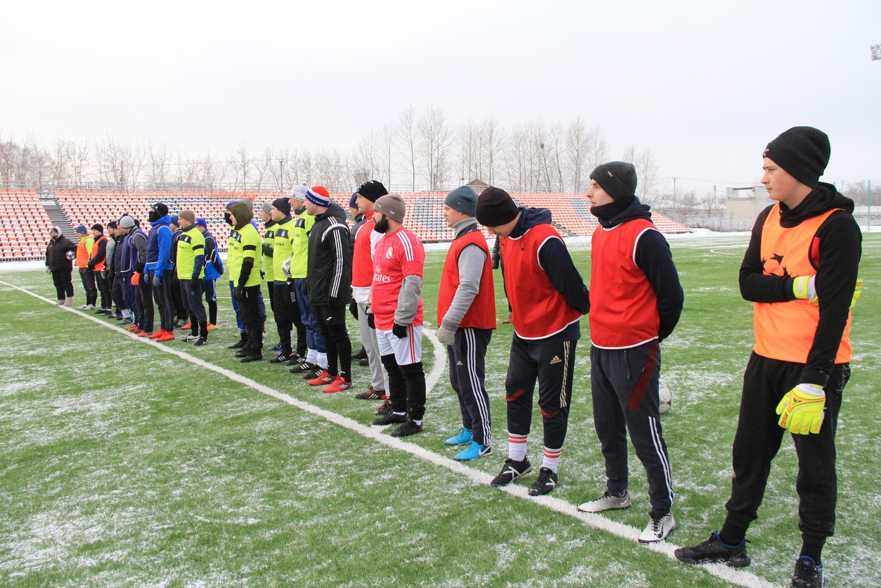 Стартовало Первенство города Ирбита по зимнему футболу!