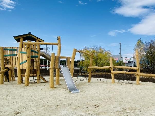 В Златоусте открыли новый парк!  Получилось современное, ...
