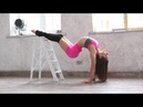 Flexible gymnastics , contortion flexilady stretching girl contortionist, Contortion