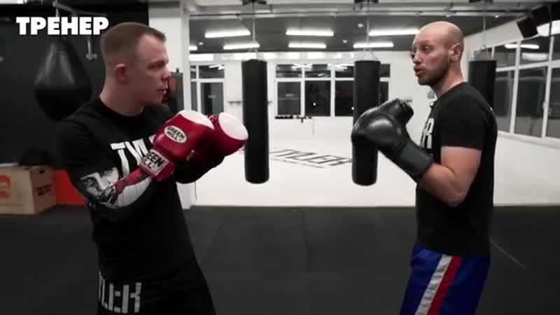 Как победить переднюю руку боксера Работа против джеба