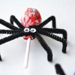 «Чупа-чупс» в виде паука на Хэллоуин (МК)