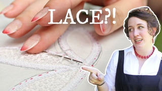 I tried to make Lace by hand || Learning something new w/ Enchanted Rose Costumes