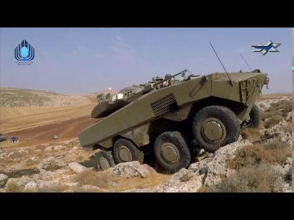 Вездеходные возможности тяжелого израильского БТР