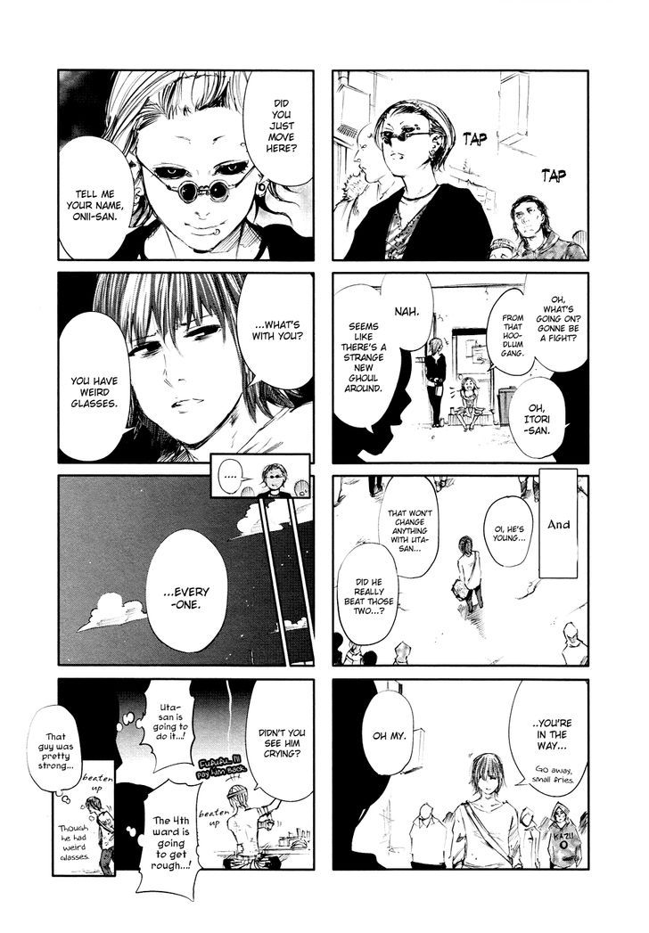 Tokyo Ghoul, Vol.4 Chapter 39 Feast, image #19