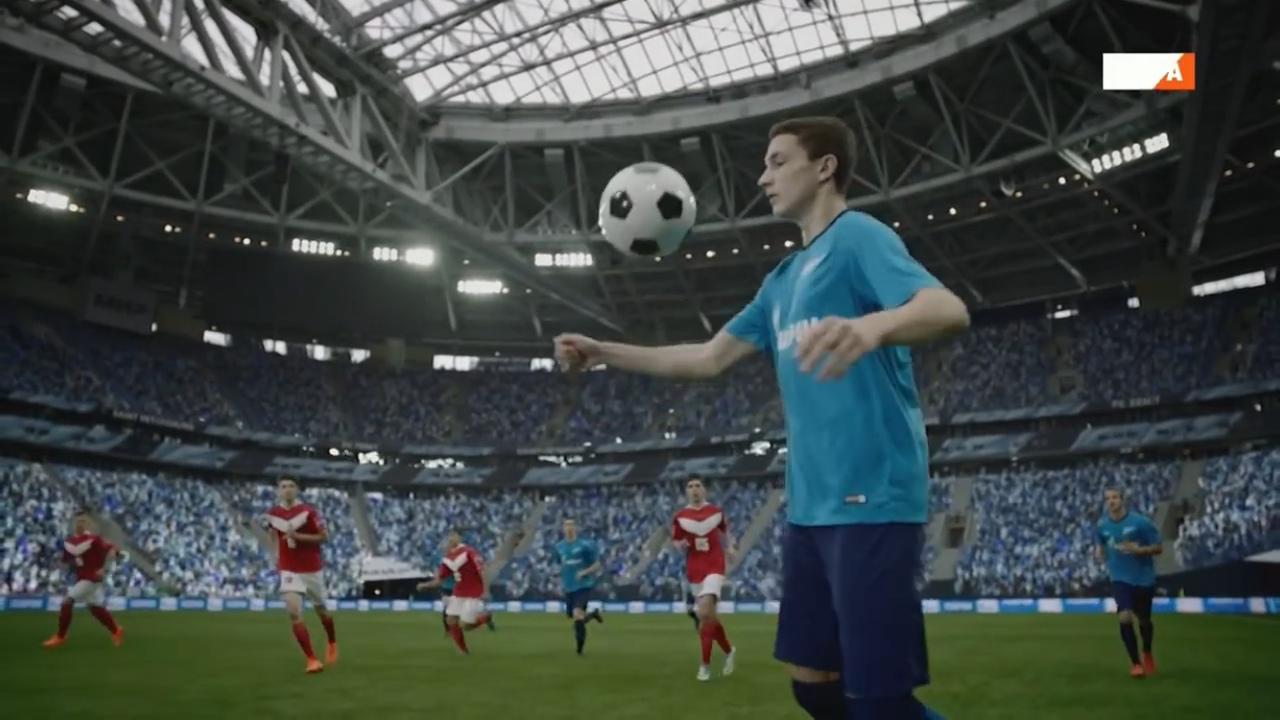 Реклама Газпром спорт