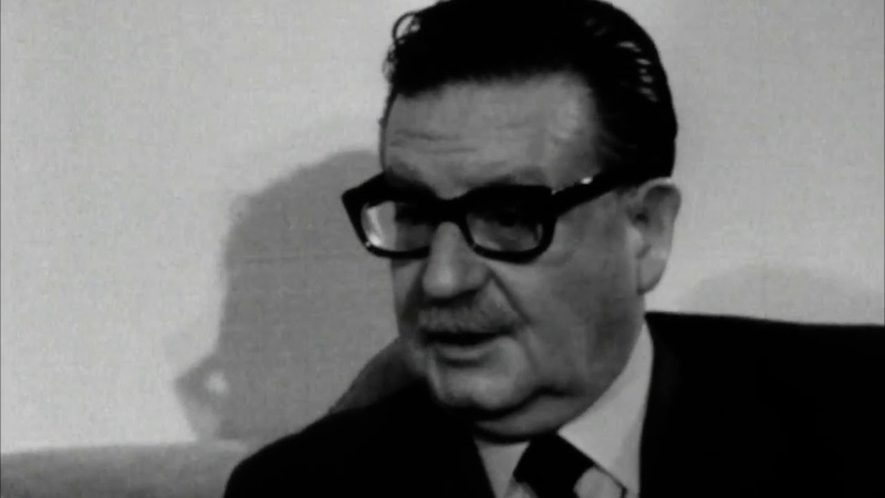La fuerza y la razón Entrevista a Salvador Allende por Roberto Rossellini en 1971
