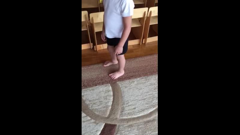 Комплекс упражнений на профилактику нарушений плоскостопия для детей старшего возраста
