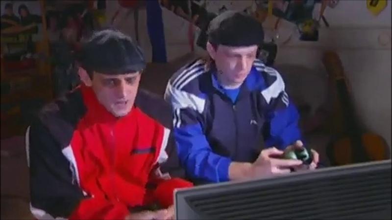 Башка и Ржавый играют в мортал комбат
