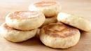 Pan sin horno hecho en sartén ¡Solo 2 ingredientes