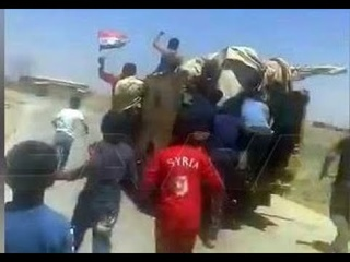 Syrians blocked US military patrol from passing through their village | June 2021