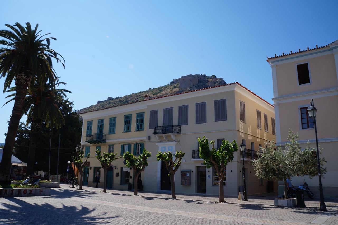 Нафплион - главный курорт континентальной Греции