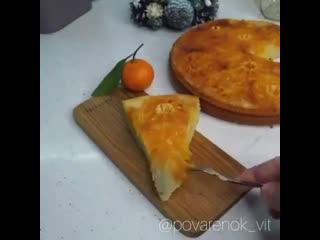 Хитрая хозяйка () Пирог Мандарин на новый год