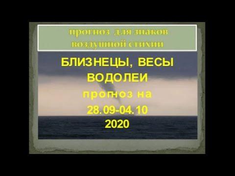 близнецы весы водолей гороскоп на 29 09 04 10 2020