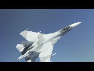 Микро-блог ценителя истории 28 августа 2020 года контроль полёта Су 27 над Чёрным мор.mp4
