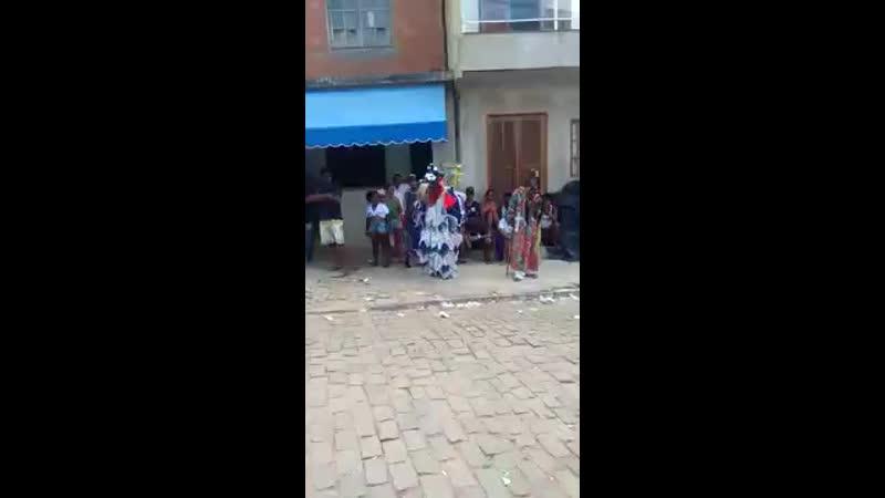 Palhaço Folia Reis Renan de Cantagalo festa do João da Rocha