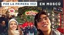 MEXICANOS EN MOSCÚ – Su reacción a la capital de Rusia | Plaza roja, mercado de navidad Katya2RU