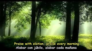 CAT STEVENS - MORNING HAS BROKEN - Subtitulos Español & Inglés