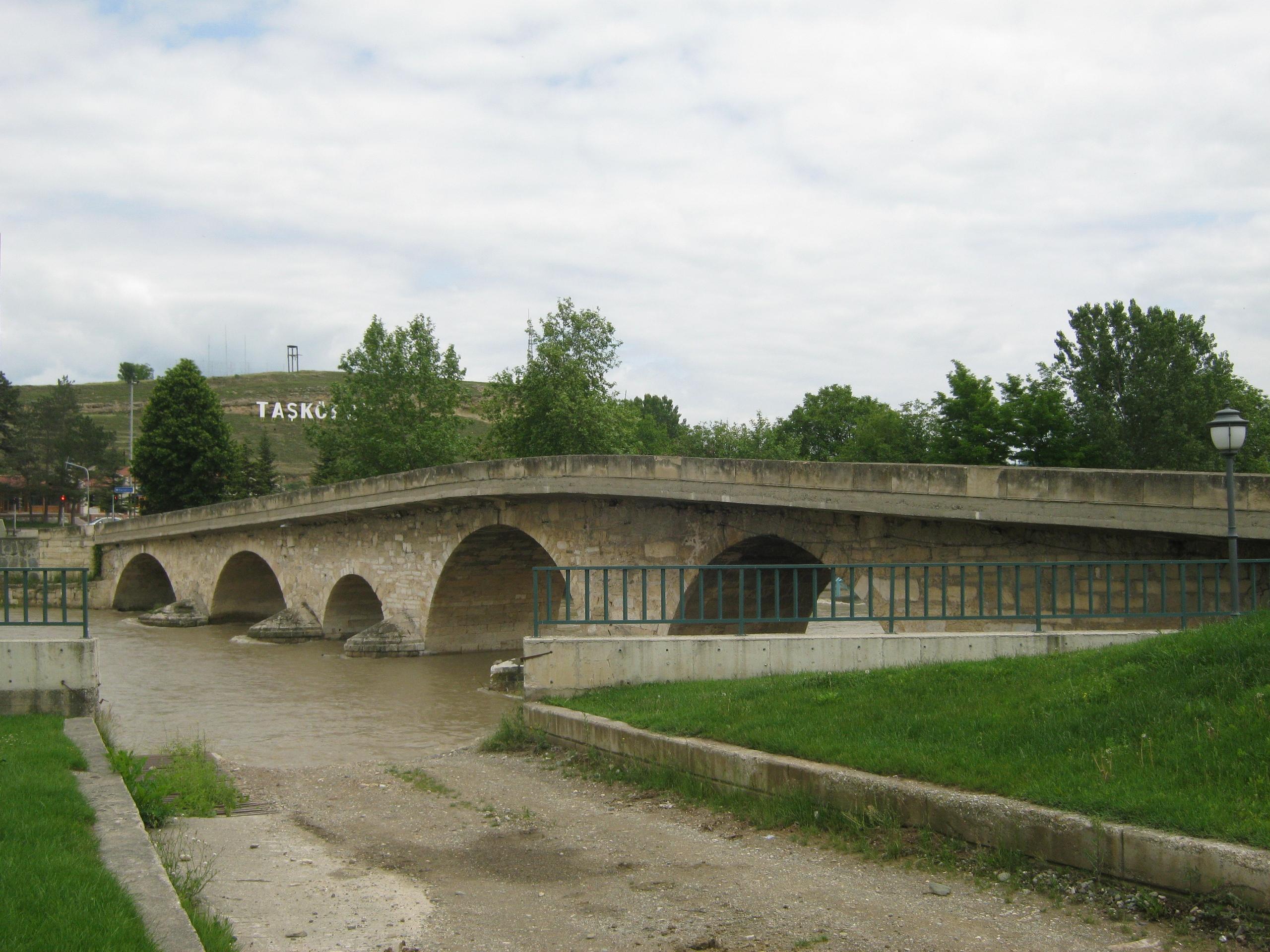 Старинный мост в Ташкёпрю, ил Кастамону