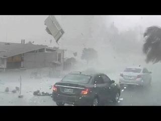 Attack from the sky on Germany !  Scary Large hail storm hits Oberland, Allgäu, Lustenau