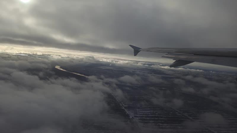 Ural Airlines Airbus A320 VQ BDM Архангельск Жуковский взлёт 1 22 октября 2020