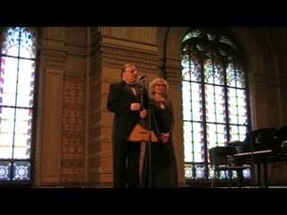Классик  дуэт Андрей Горбачев  балалайка   Татьяна Ханинова фортепиано Одесса Филармония 2009
