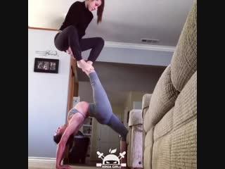 SLs Beautiful Girls doing amazing kicks