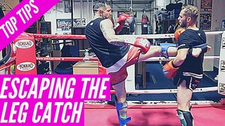 Top 5 Ways To Deal With Getting Your Leg Caught | Muay Thai Top Tips | Liam Harrison