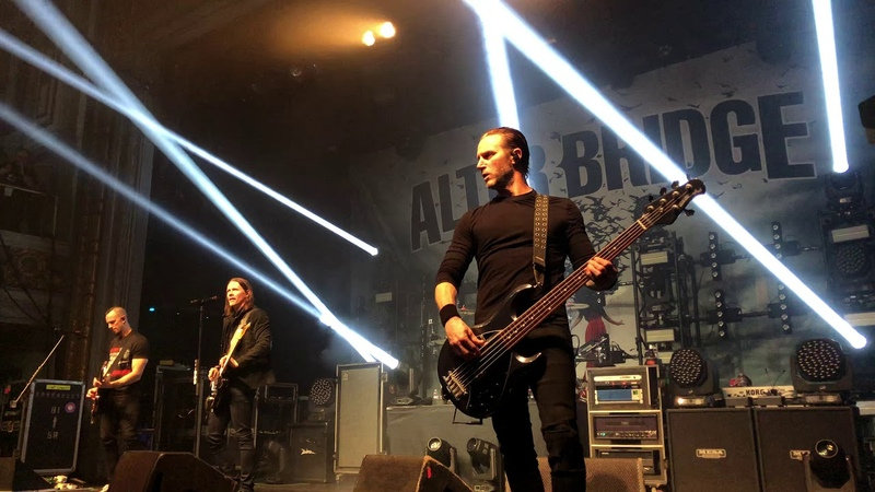 Alter Bridge Ghost of days gone by Live in San Francisco 2020