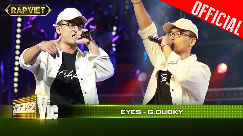Làm sống lại ca khúc Đôi Mắt của Wanbi GDucky khiến JustaTee phải sởn da gà RAP VIỆT Live Stage