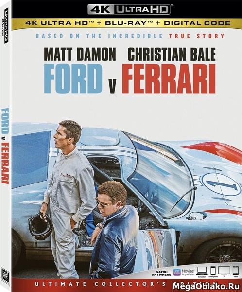 Ford против Ferrari / Ford v Ferrari (2019) | UltraHD 4K 2160p