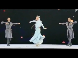ансамбль Сухишвили - танец Даиси (Давлури)