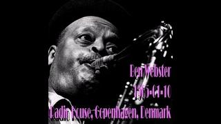 Ben Webster - 1965-01-10, Radio House, Copenhagen, Denmark