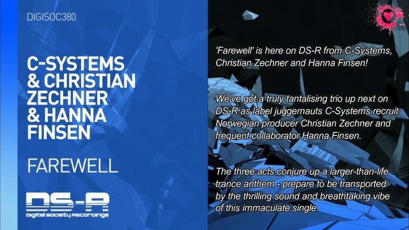 C-Systems Christian Zechner Hanna Finsen - Farewell (Original Mix)