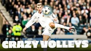 UNFORGETTABLE VOLLEYS | Zidane, Raúl, Cristiano Ronaldo | REAL MADRID