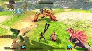Monster Hunter Stories 2 - Co-Op Gameplay