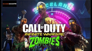 INFINITE WARFARE - ZOMBIE`S IN SPACELAND Public Match (Scene 1-15) Game Geeks News & M00DY MOFO