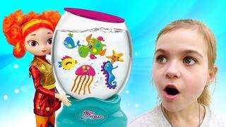 Аквариум AquaDabra для девочек - приключения в подводном мире с куклами Сказочный патруль!