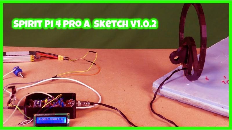 Самодельный металлоискатель Spirit Pi 4 Pro A с экраном 16х2 / Часть 3