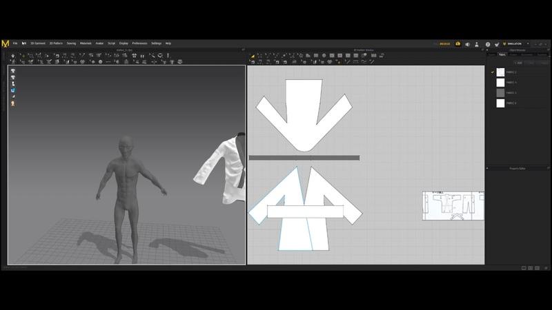 Samurai sculpt ○ Part 4 ○ Marvelous Designer ○ Autodesk Maya