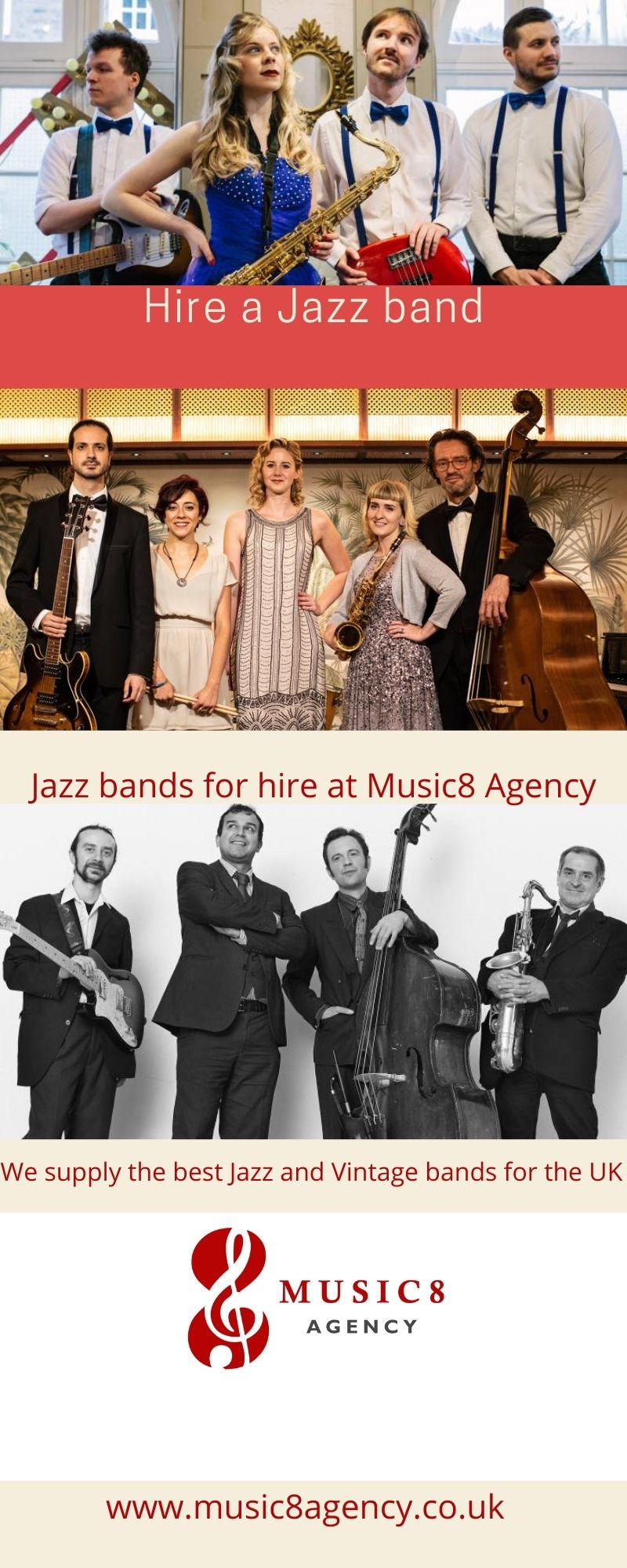 Jazz Bands for Hire