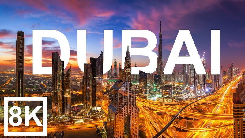 Dubai in 8K ULTRA HD The Game of Architecture 60 FPS