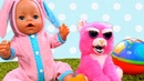 Видео про игрушки и куклу Беби Бон. Злая-добрая зверушка у клоуна!