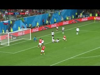 Crazy soccer голы россии в матче с египтом