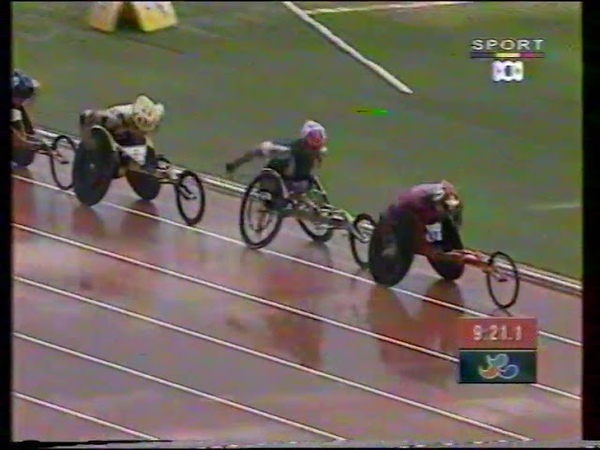 Sydney 2000 Paralympic Games Mens T54 5000m Semi Final poor quality