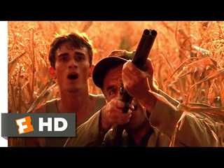 Jeepers Creepers 2 (2003) - Cornfield Attack Scene (1/9)   Movieclips