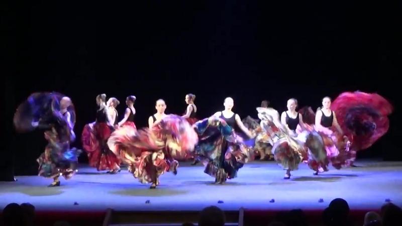 Цыганский танец СВУИиК госэкзамен по народным танцам 2016