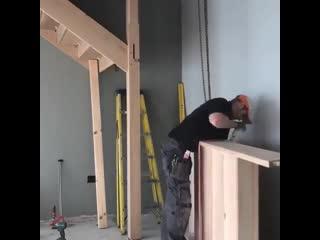 Хитрости строительства лестницы в одиночку - Глаза боятся - руки делают