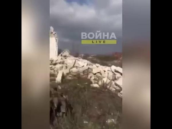 карабах азербайджанская нога в полете после наступа на мину