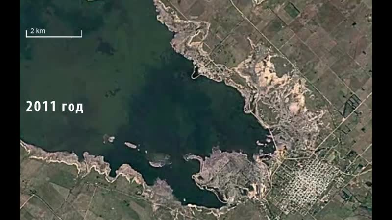 Затонувший город поднялся на поверхность через 30 лет Аргентинская Атлантида